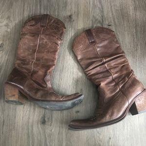 Steve Madden Cowboy Boots 7M
